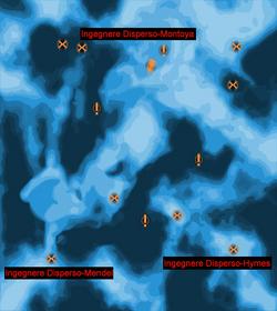 Mappa degli ingegneri dispersi