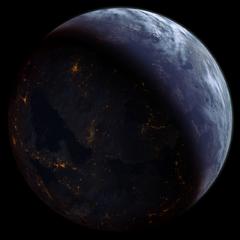 Il pianeta natale dei quarian nel 2186
