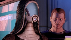 Lia'Vael e l'Agente umano dell'SSC