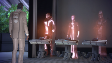 Udina discute con il Consiglio