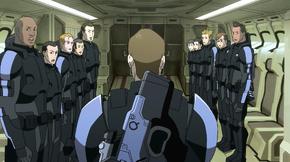La Squadra Delta nel 2183