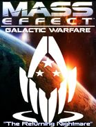 Mass Effect Galactic Warfare Cover