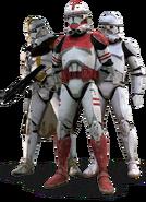 Frontier troopers