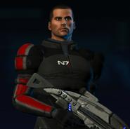 Shepard (pre-Eden Prime)