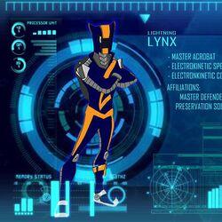 Lightning Lynx/Powers