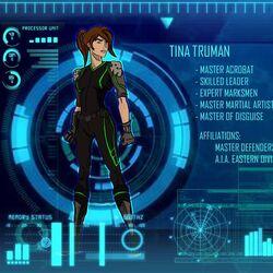 Tina Truman/Abilities