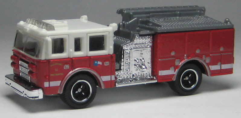 Pierce Dash Fire Engine
