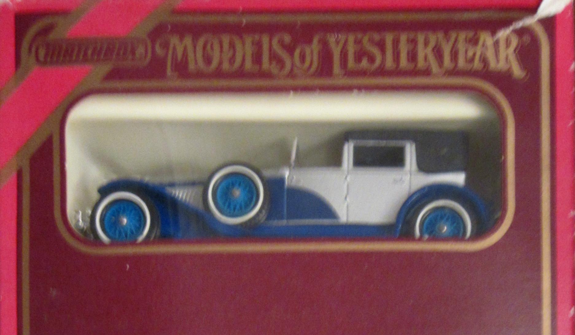 1930 Model J Duesenberg Town Car (Y-4)