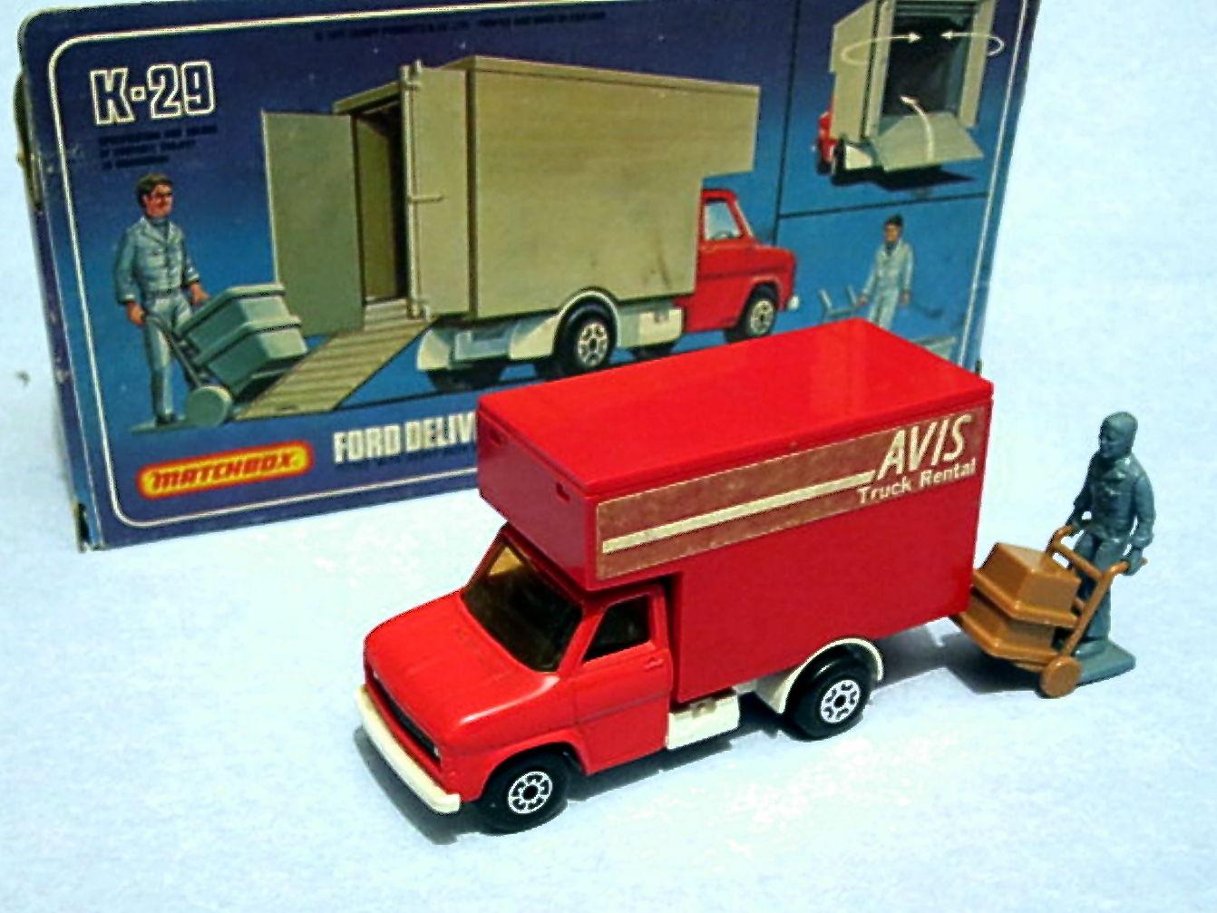 Ford Delivery Van (K-29)