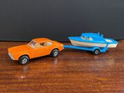 TP-5 Two Pack - Ford Capri with Boat and Trailer - front