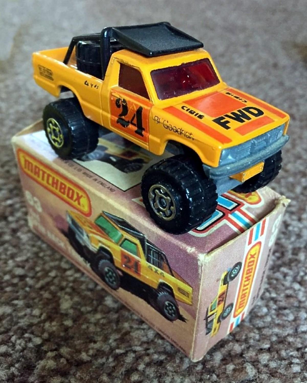 4x4 Open Back Truck