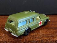 MB03 Mercedes-Benz Binz Ambulance - Superfast wheels - olive green - rear