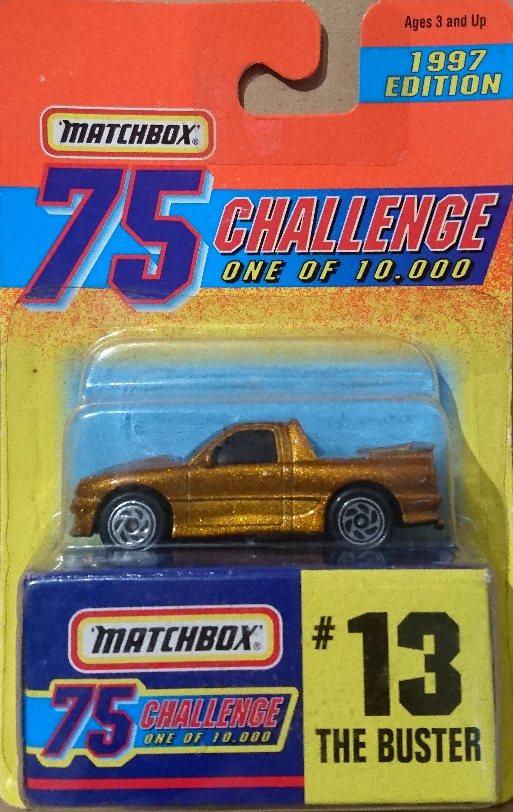 Matchbox 75 Challenge 1956 Ford Pickup #48