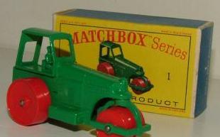 List of 1961 Matchbox