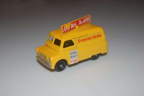 Bedford Evening News Van