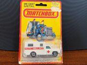 MB41 Ambulance - 'Pacific Ambulance' - on No 25 blister card