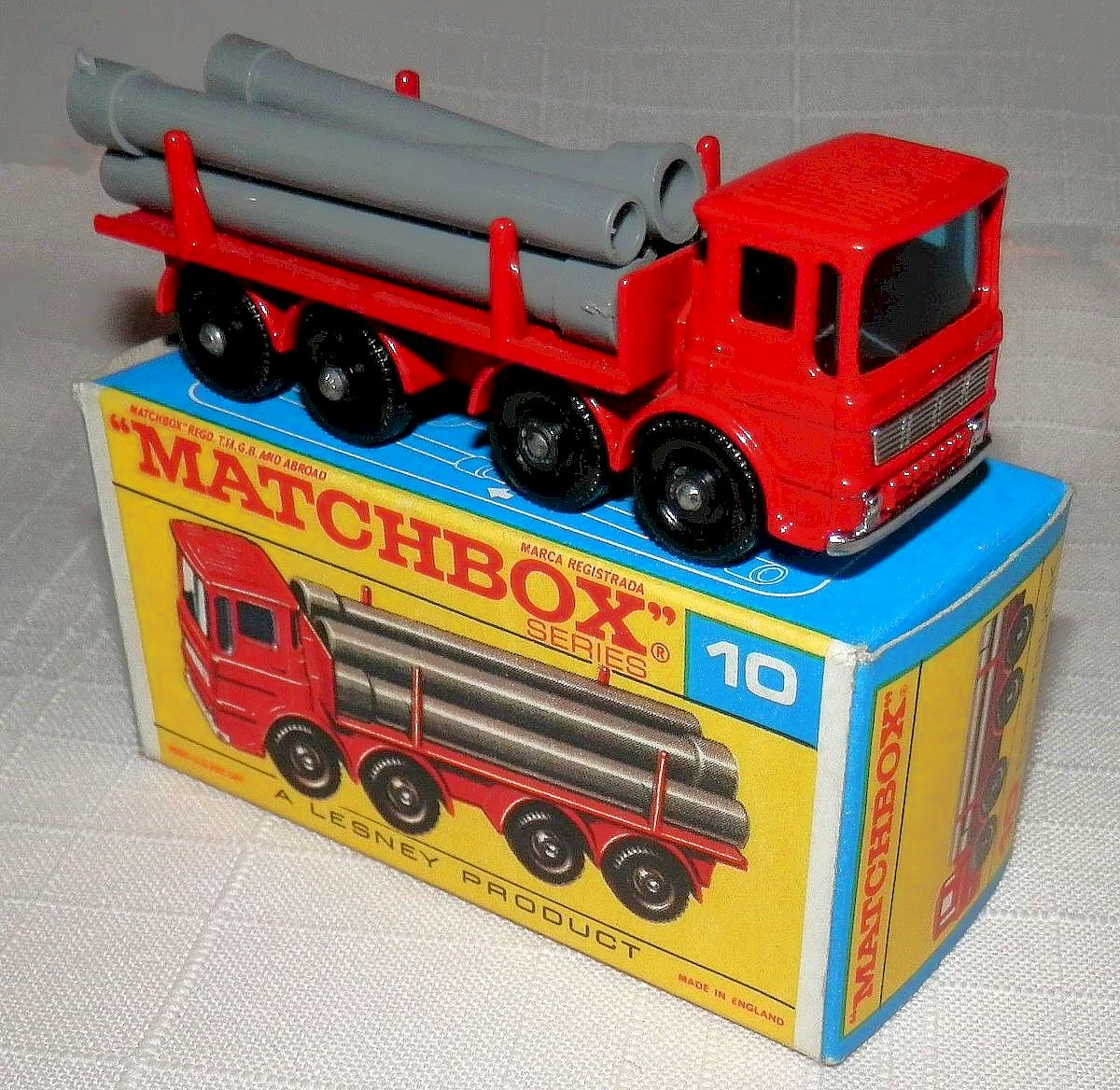 Pipe Truck (10-D)