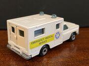MB41 Ambulance - 'Emergency Medical Service' - rear