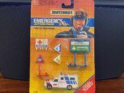 MB25 Ambulance - Emergency Action Pack - red & blue stripes - 'EMT'