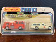 MB03 Mercedes-Benz Binz Ambulance - Twin Pack TP-10