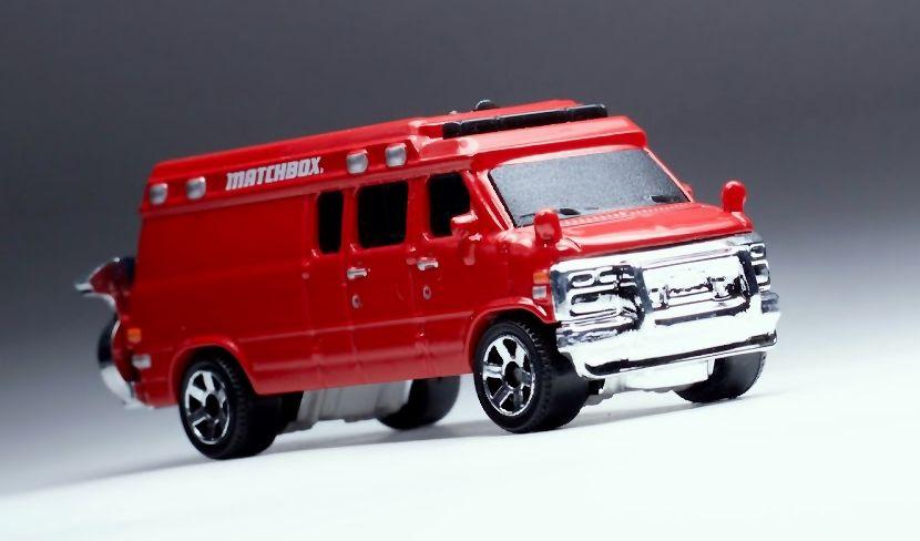 '95 Custom Chevy Van