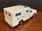 MB41 Ambulance - white 'Ambulance' - rear