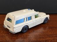 MB03 Mercedes-Benz Binz Ambulance - Superfast wheels - rear
