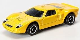 Sugar Daddy The ORIGINAL Hot Shot shot glass Matchbox car Ford GT-40