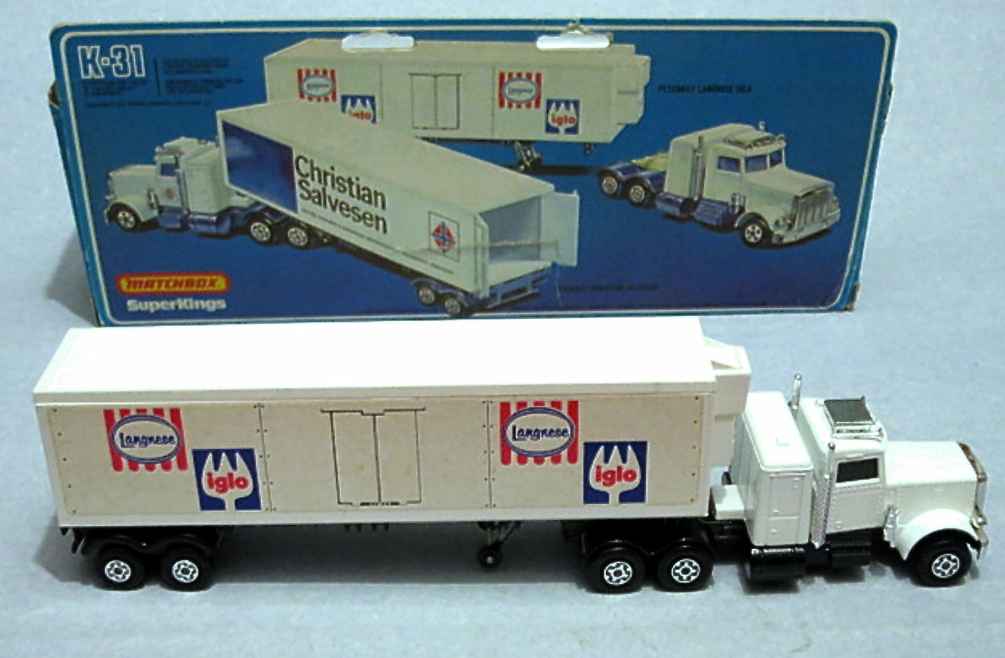 Peterbilt Refrigeration Truck (K-31)