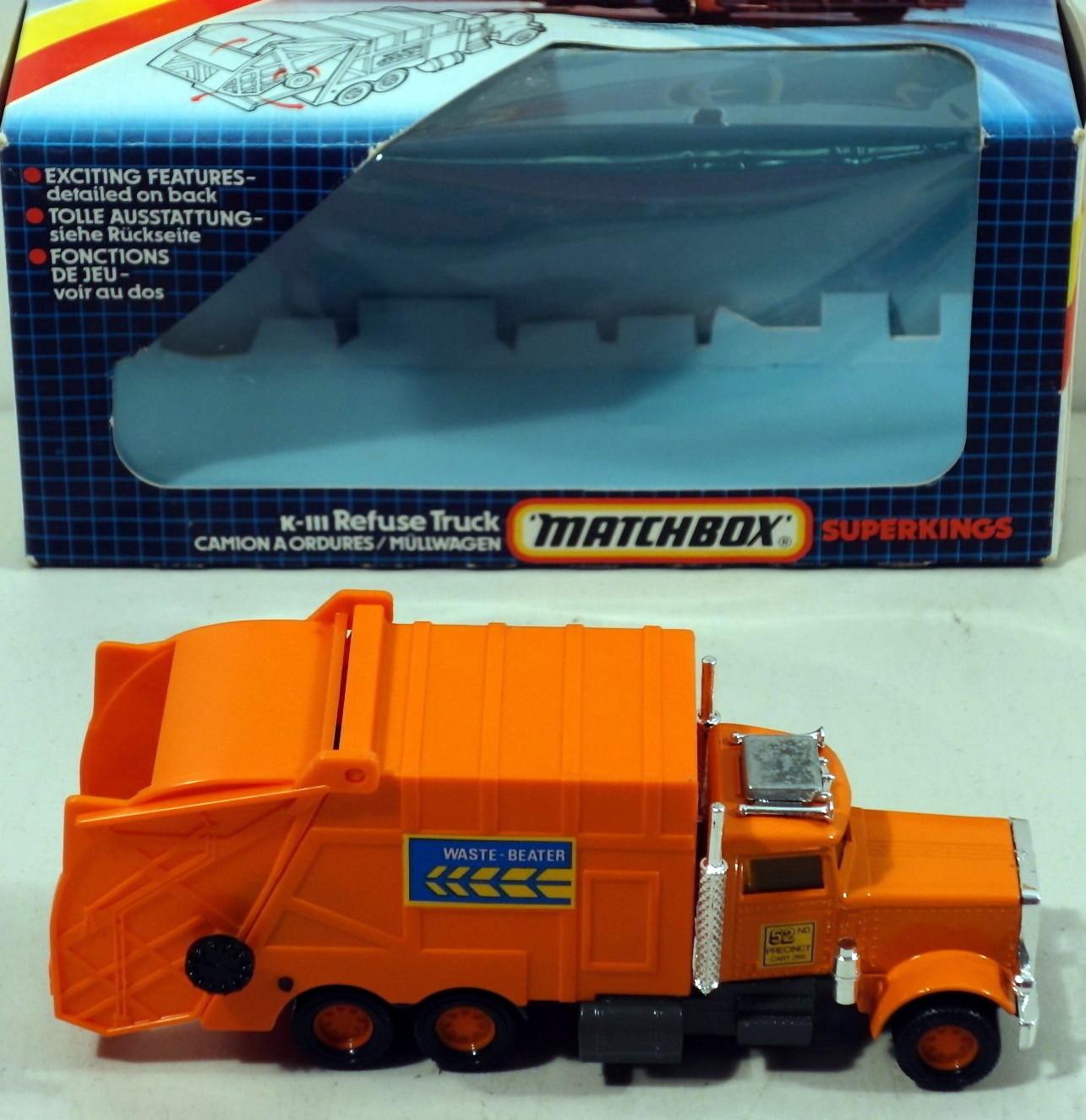 Refuse Truck Peterbilt (K-111)