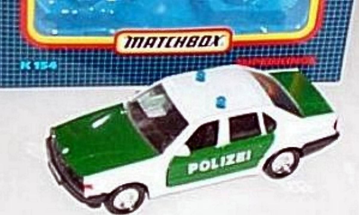 BMW 750 il Police Car (K-154)