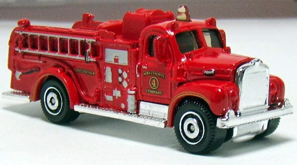 1963 Mack B Fire Truck