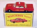 Ford Fairlane Fire Chief's Car