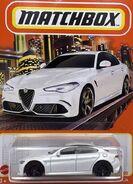 Matchbox Alfa Romeo Giulia White