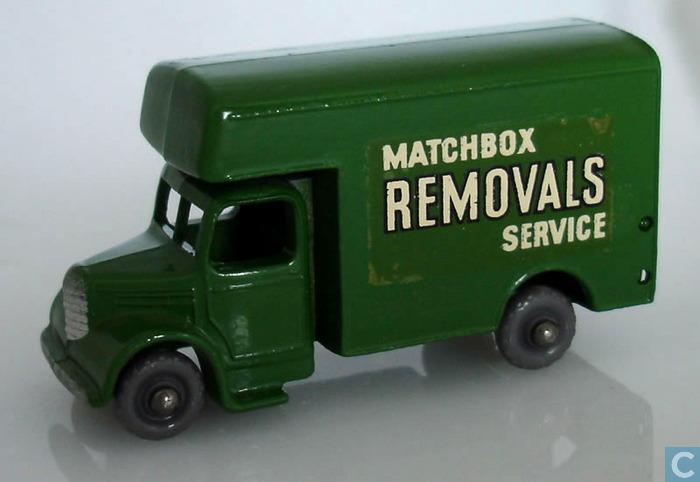 Bedford Removals Van (17-B)