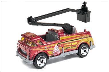 Bucket Fire Truck