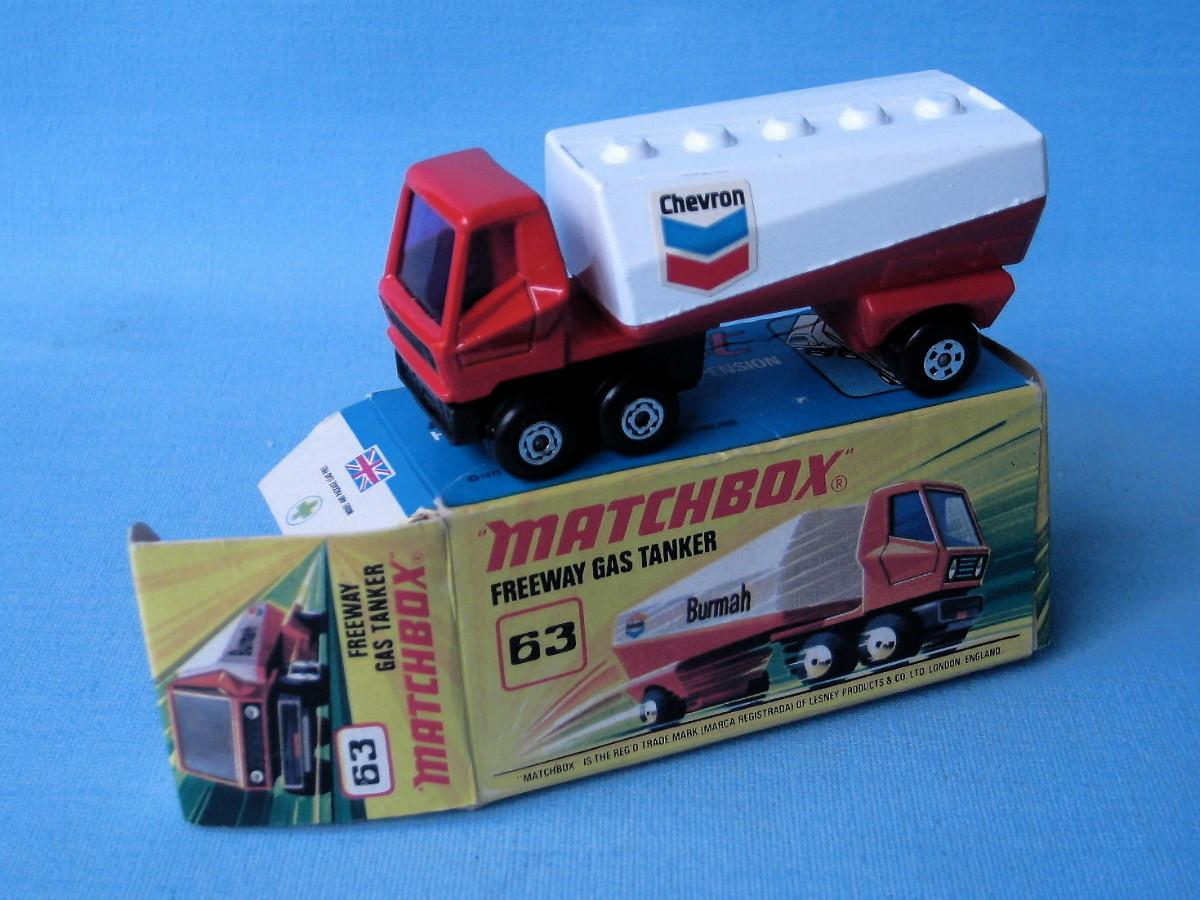 Freeway Gas Tanker