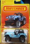 Jeep 4x4 Blue Retro Series