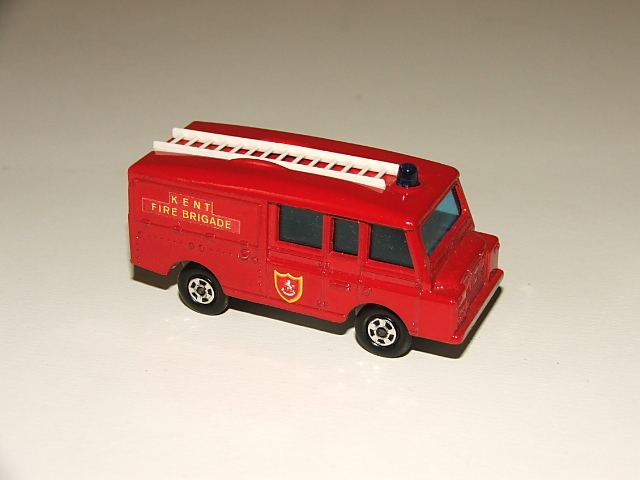 Land Rover Fire Truck
