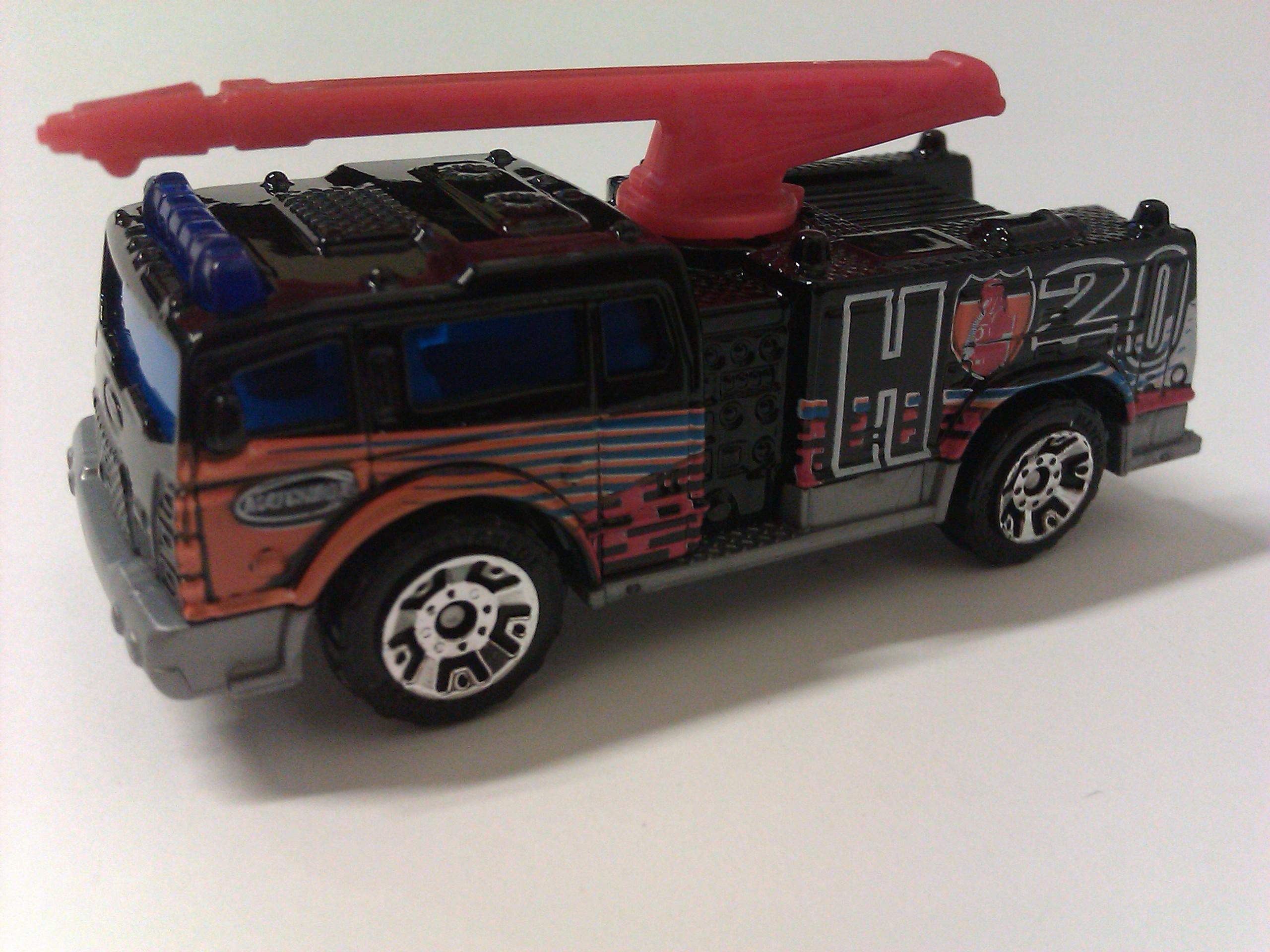 Boom Fire Truck
