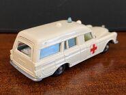 MB03 Mercedes-Benz Binz Ambulance - regular wheels - rear