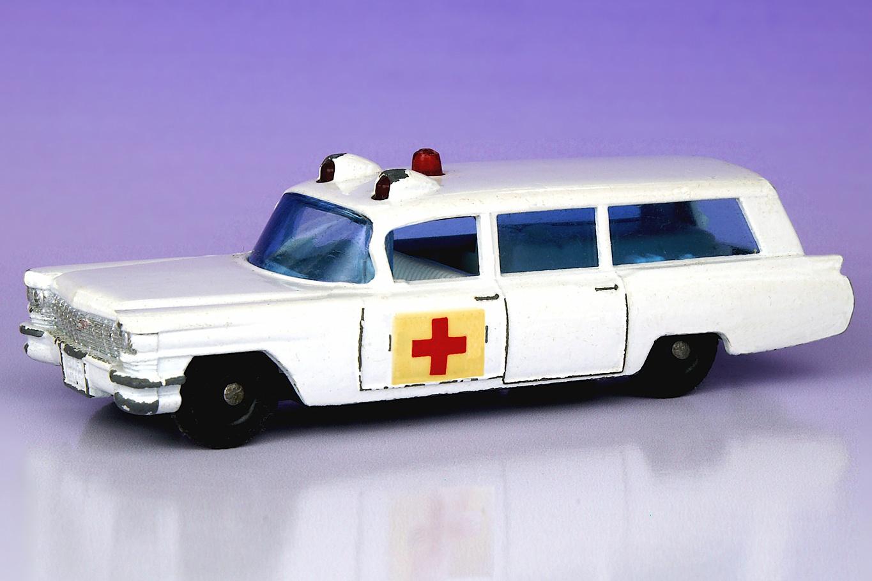 S & S Cadillac Ambulance