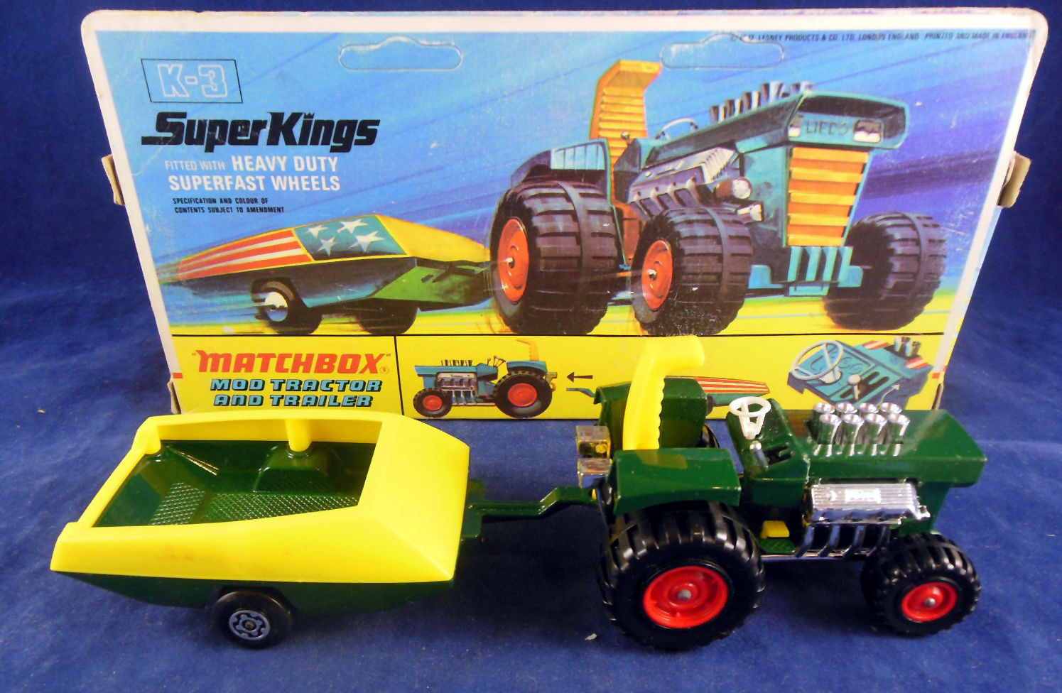 Mod Tractor and Trailer (K-3)