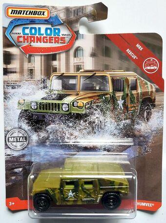 Matchbox Color Changers /'57 GMC,Jeep Wangler,Humvee,Spark Arrester /& Ford