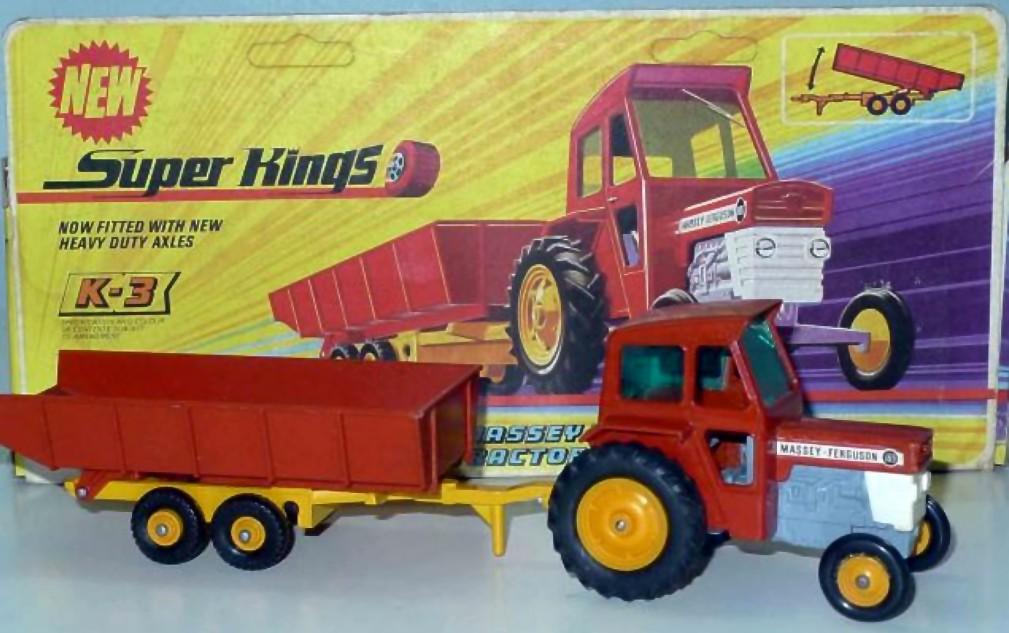 Massey Ferguson Tractor & Trailer (K-3)