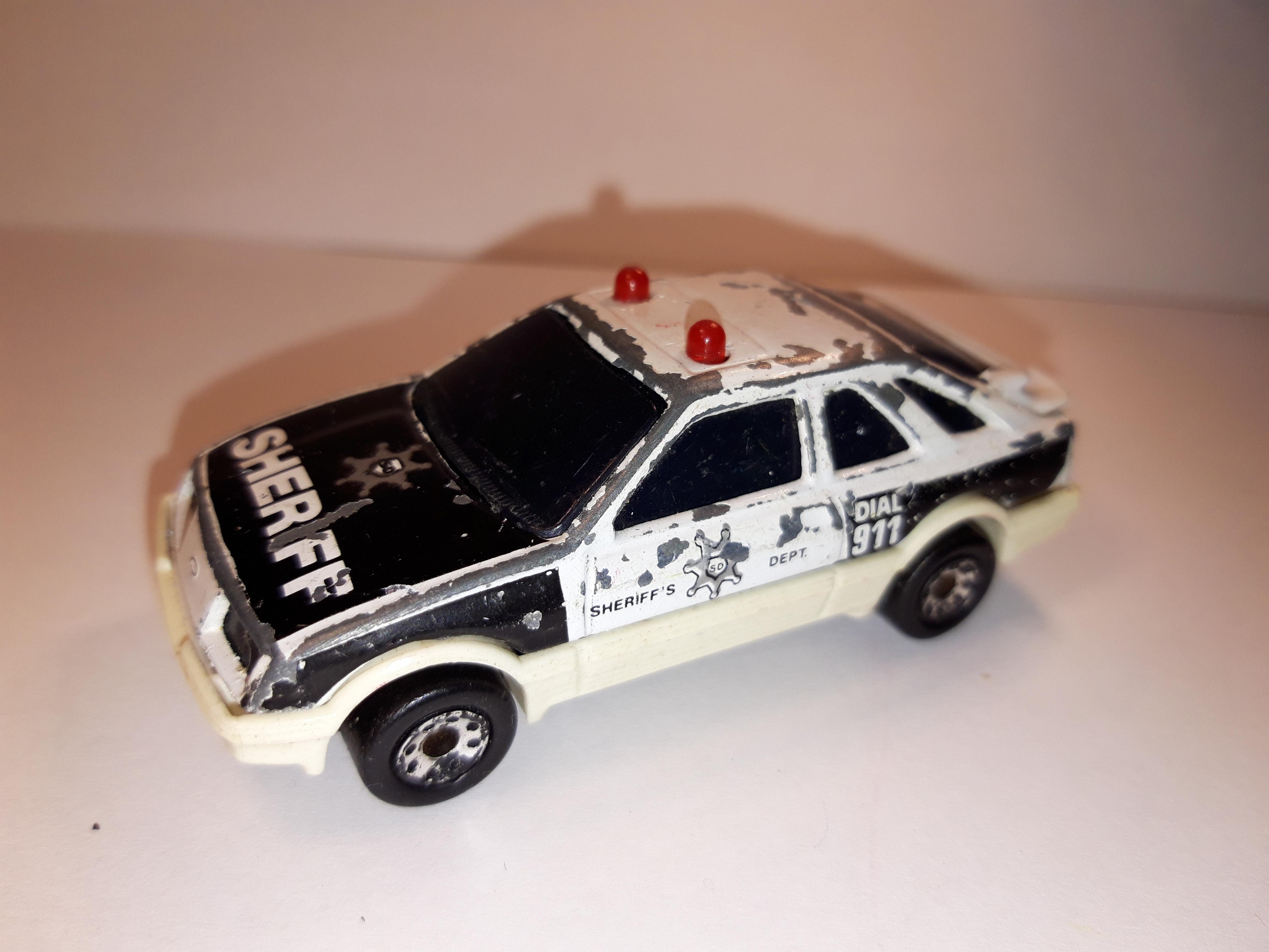 1983 MATCHBOX FORD SIERRA XR4i WITH GREY SPOILER #14 NIB