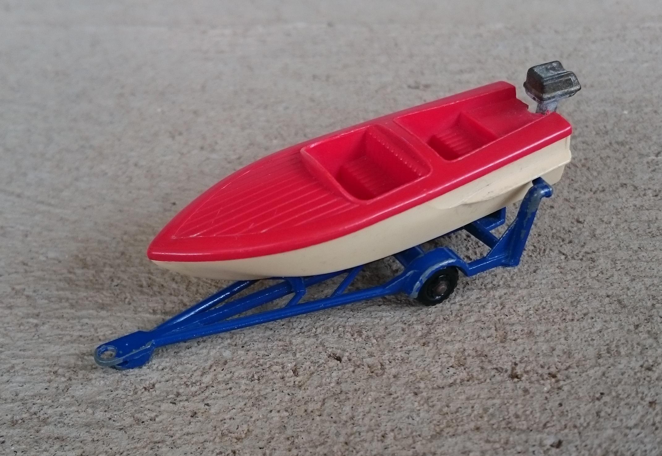 Sports Boat & Trailer (48-B)