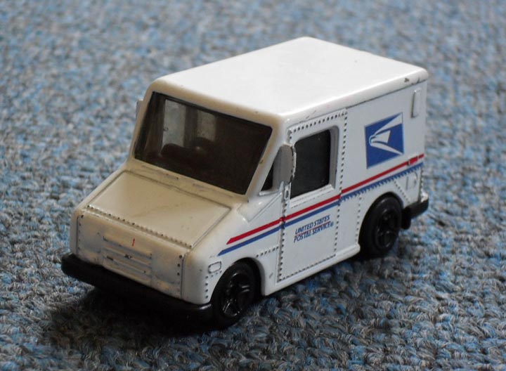 Postal Service Delivery Truck