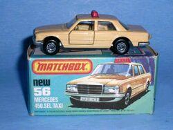 Bulgarian Matchbox Superfast Mercedes 450 SEL New Old Die Cast Cars 1979 Blister