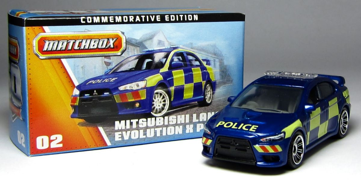Mitsubishi Lancer Evolution X Police (2010)